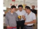 济南市委常委、高新区管委会主任王宏志一行深入山东bwinapp进行实地调研
