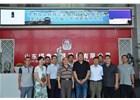 莱芜区民营企业高质量发展服务队一行深入山东bwinapp调研